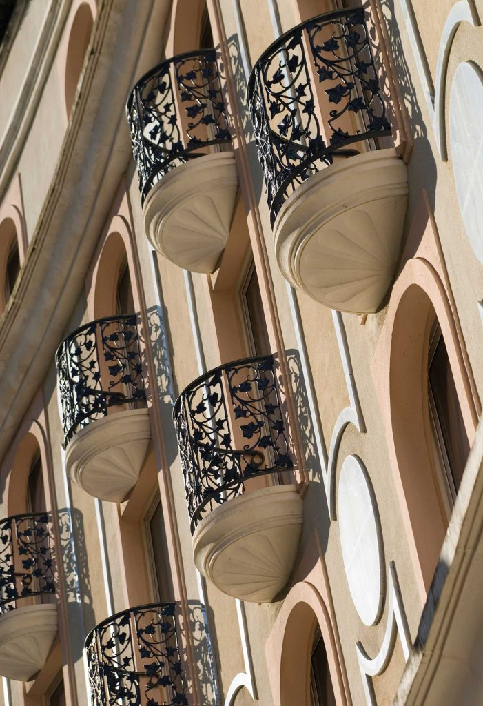 Facade de l'Hôtel Cristal Cannes