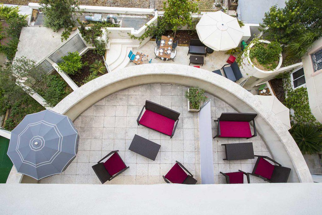 Terrasse Suite Junior et chambre privilège - Hôtel Cannes