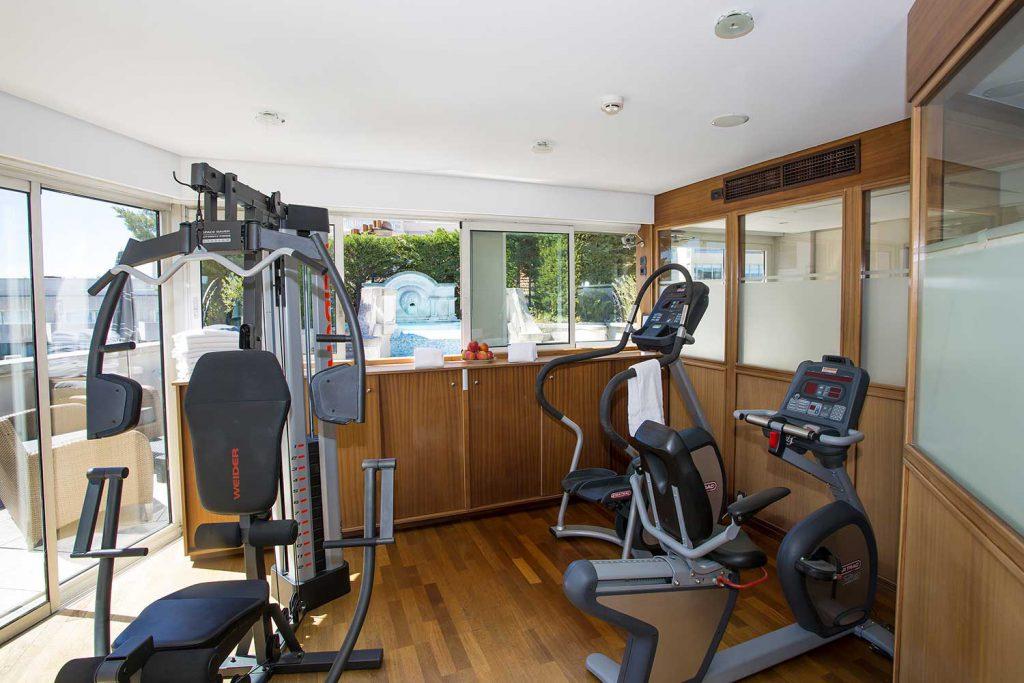Salle de Fitness - Hôtel Cannes